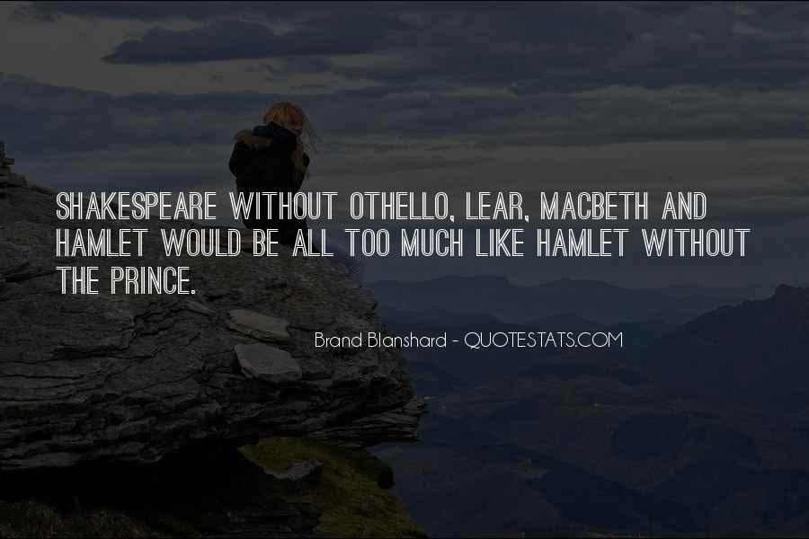 Macbeth's Quotes #513679