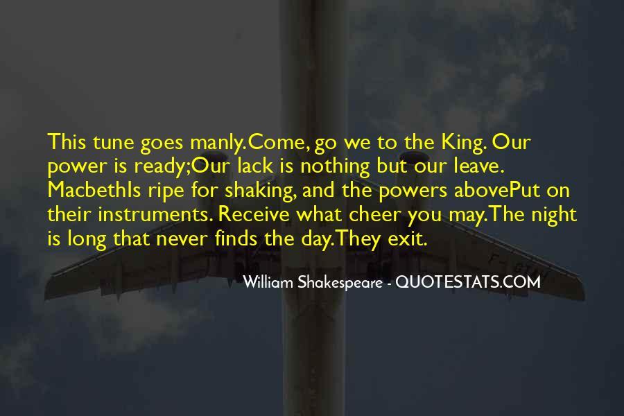 Macbeth's Quotes #57546