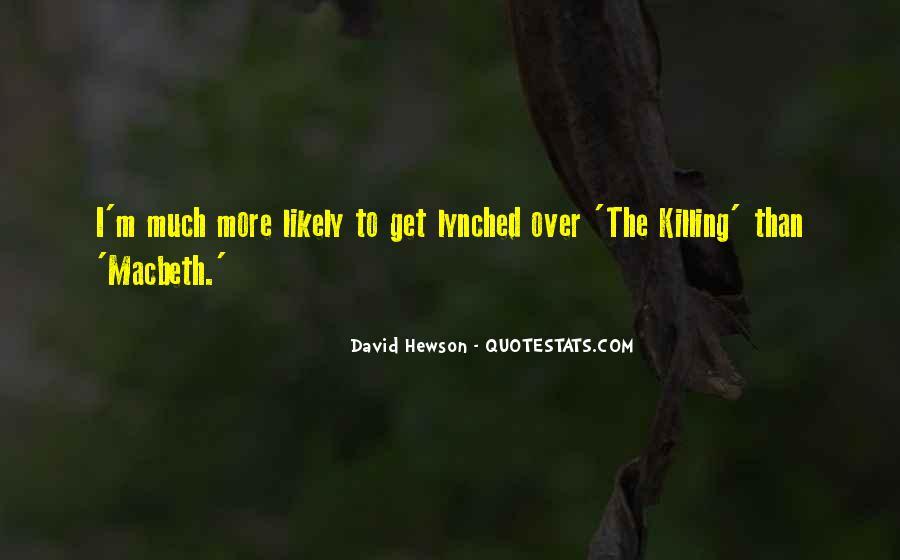 Macbeth's Quotes #632680