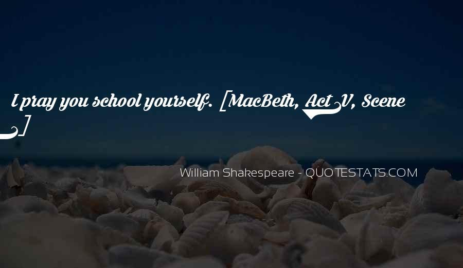 Macbeth's Quotes #680133