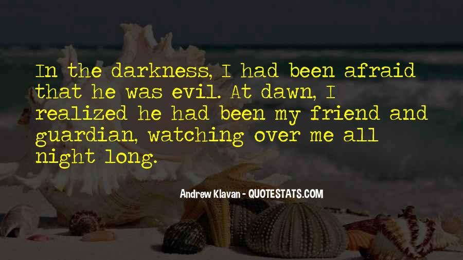 Quotes About Darkness And Night #103020