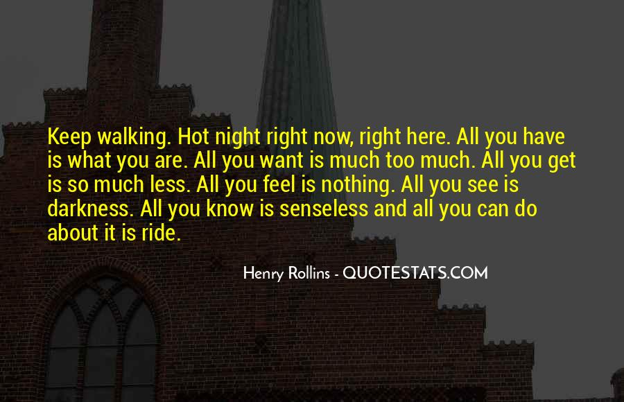 Quotes About Darkness And Night #175380