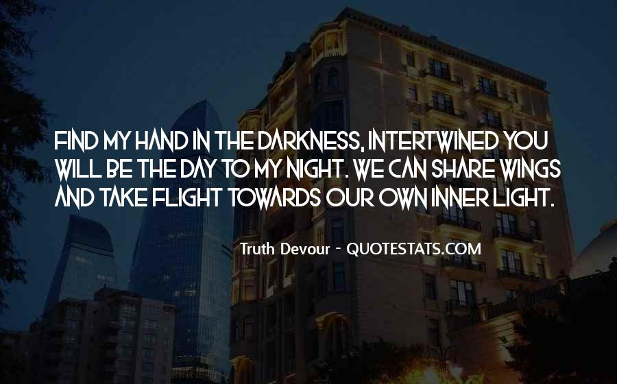 Quotes About Darkness And Night #201083