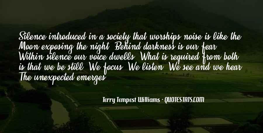 Quotes About Darkness And Night #233397