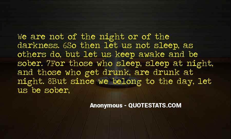 Quotes About Darkness And Night #363156