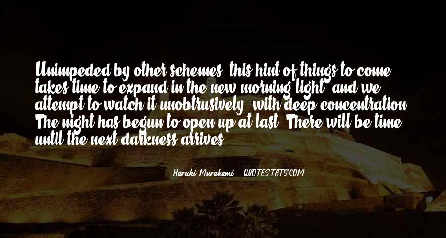 Quotes About Darkness And Night #366291