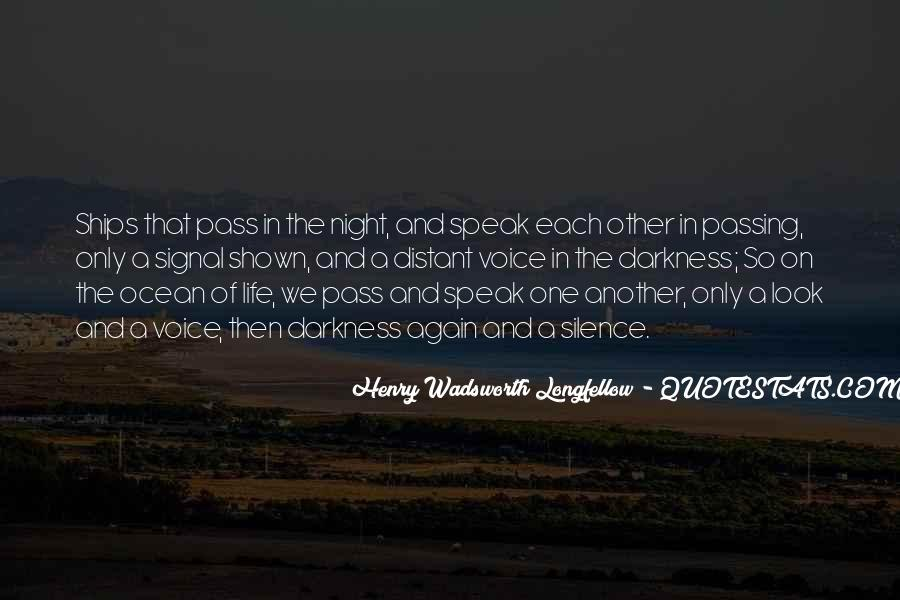 Quotes About Darkness And Night #425841