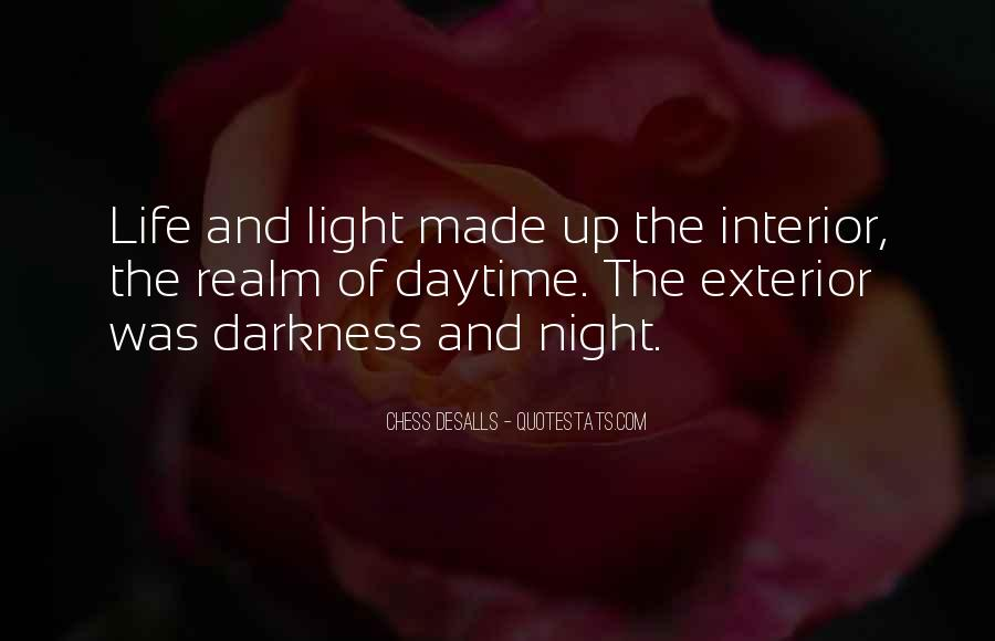 Quotes About Darkness And Night #451837
