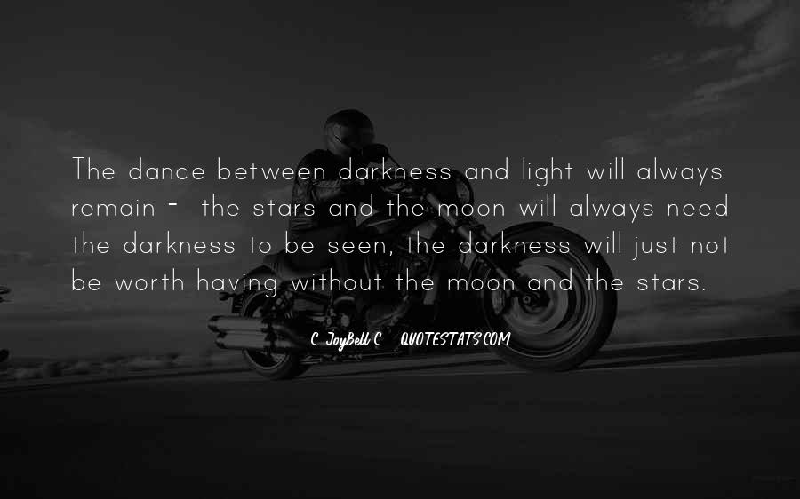 Quotes About Darkness And Night #515207
