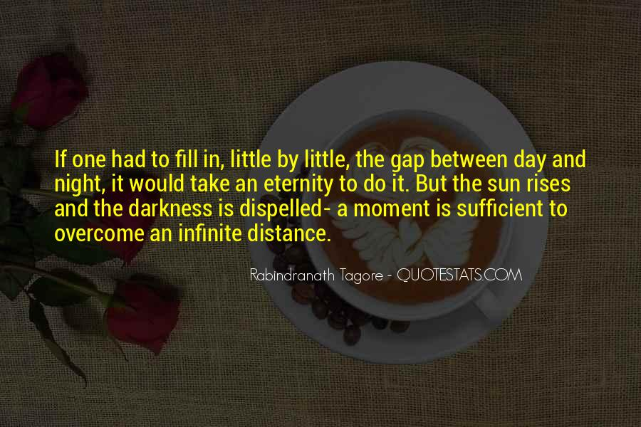 Quotes About Darkness And Night #54536