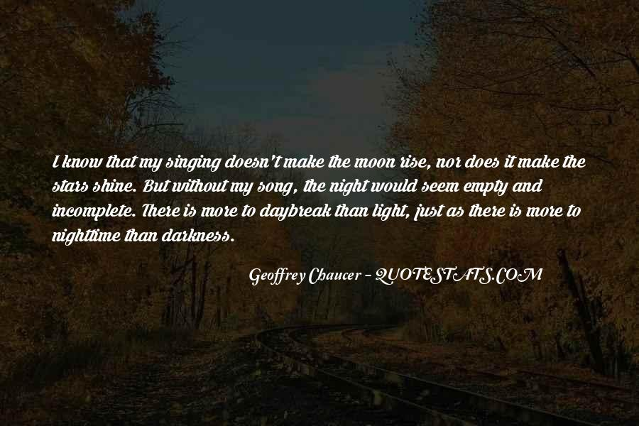 Quotes About Darkness And Night #634491