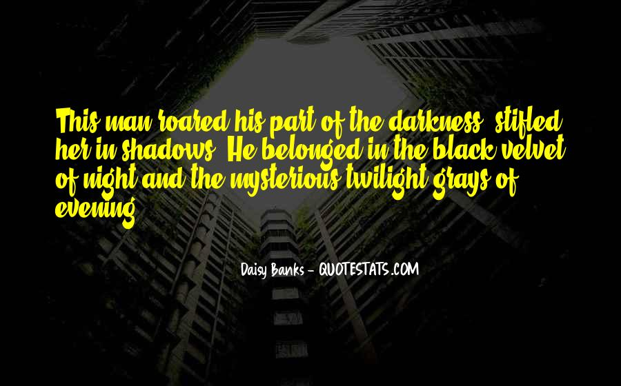 Quotes About Darkness And Night #73108