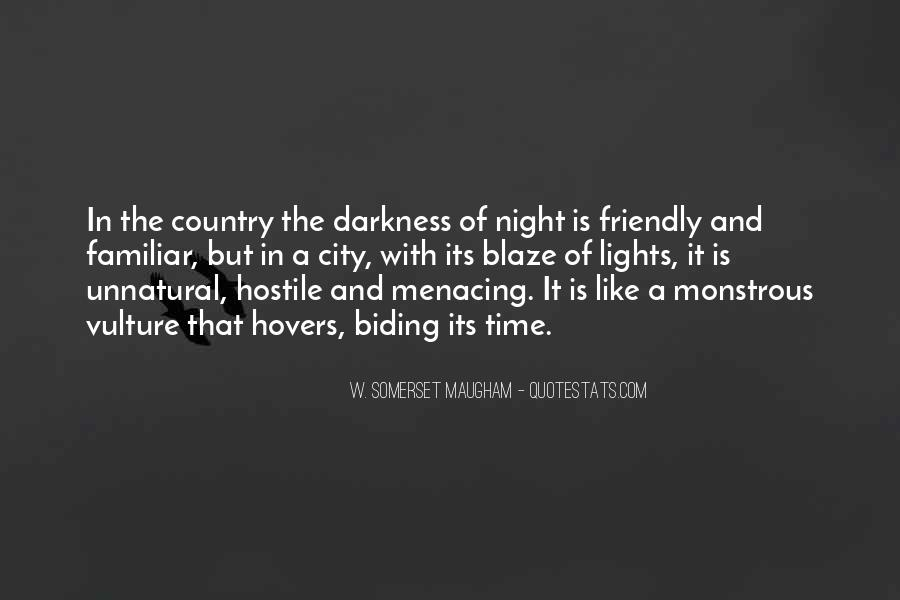 Quotes About Darkness And Night #78893