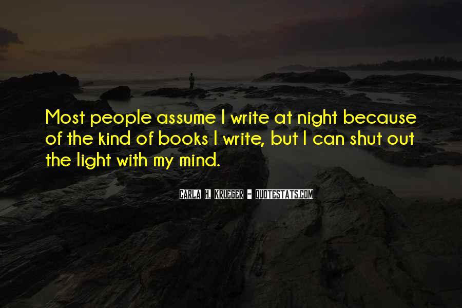 Quotes About Darkness And Night #94478