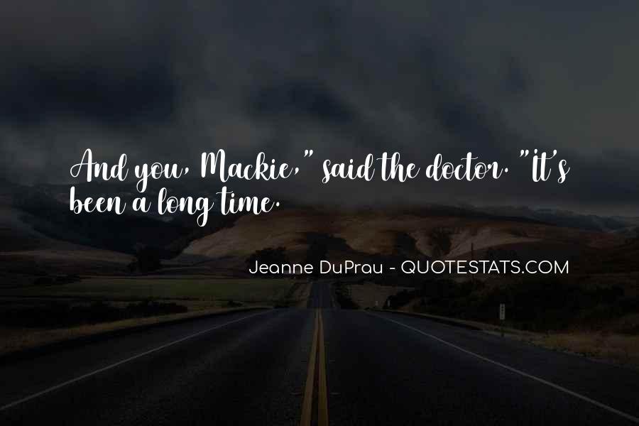 Mackie Quotes #146918