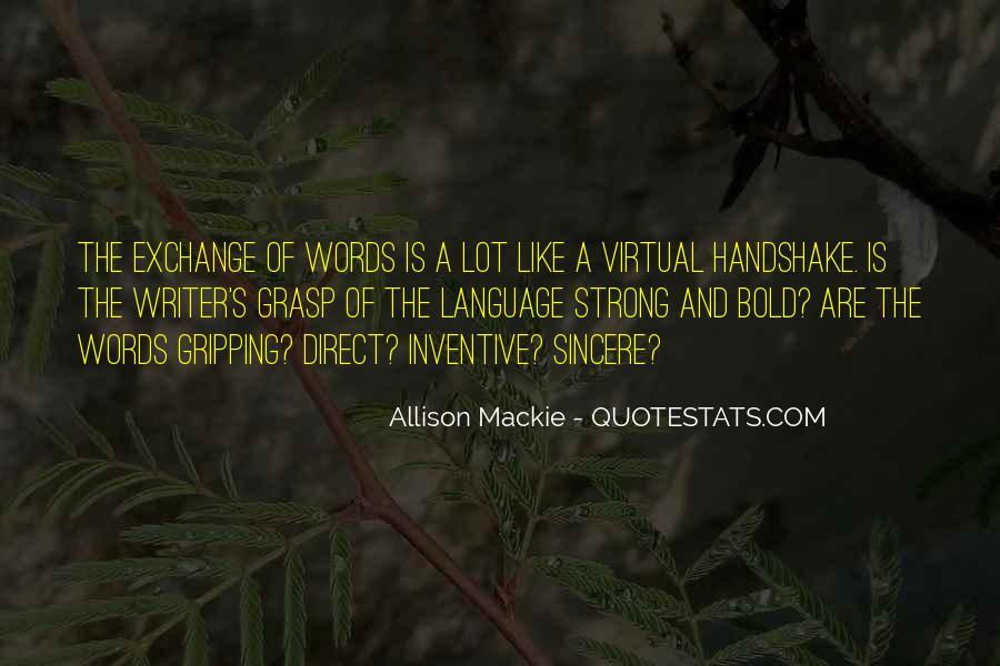 Mackie Quotes #1698635