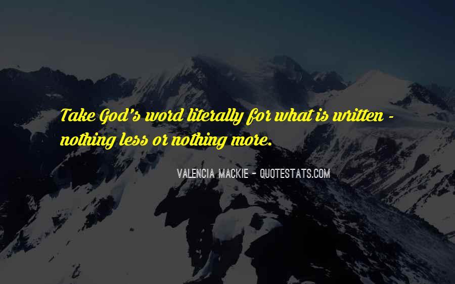 Mackie Quotes #896127