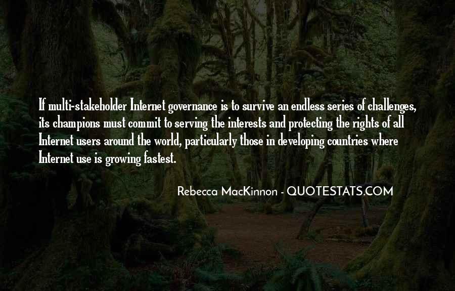 Mackinnon Quotes #46608