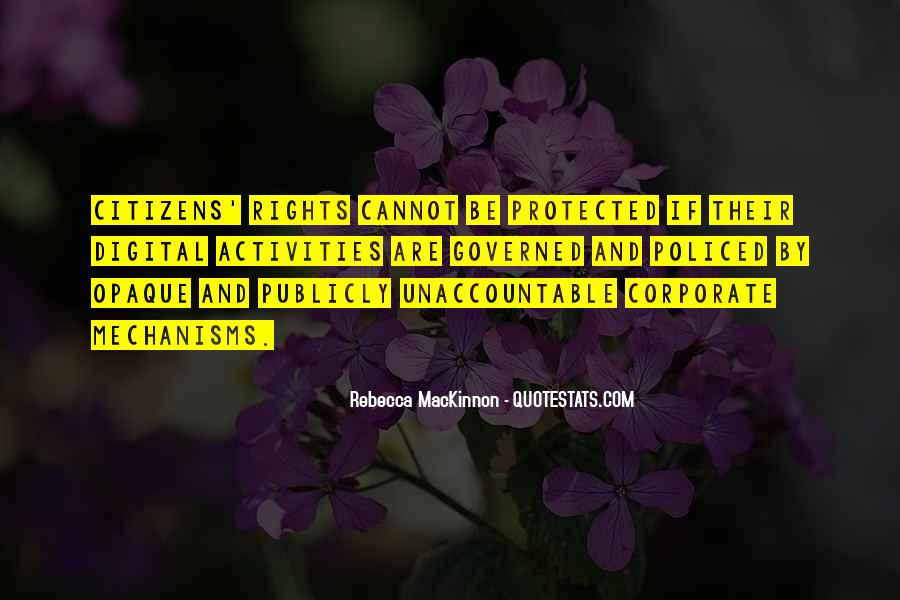 Mackinnon Quotes #96717