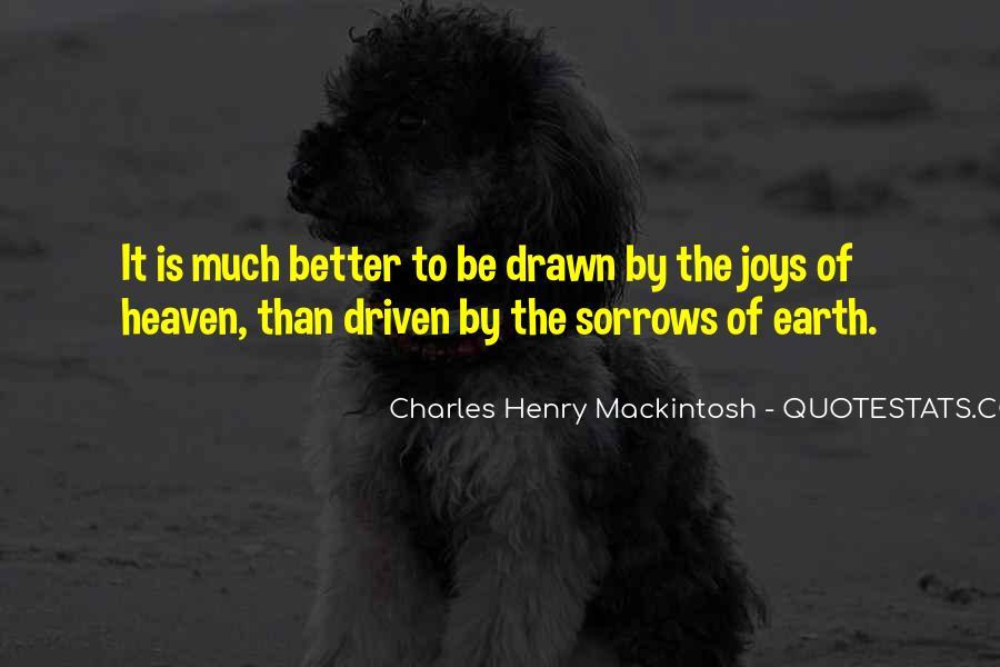 Mackintosh Quotes #1017892