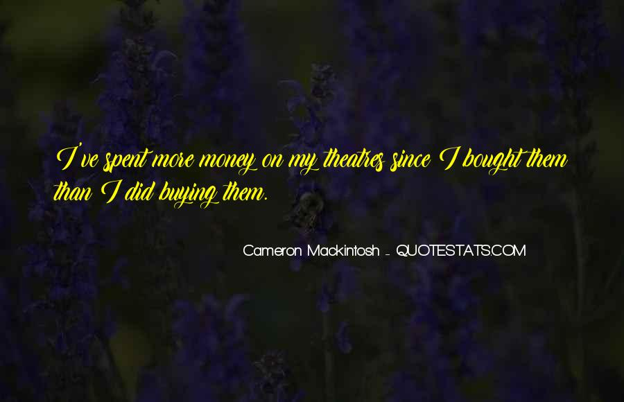 Mackintosh Quotes #1025502