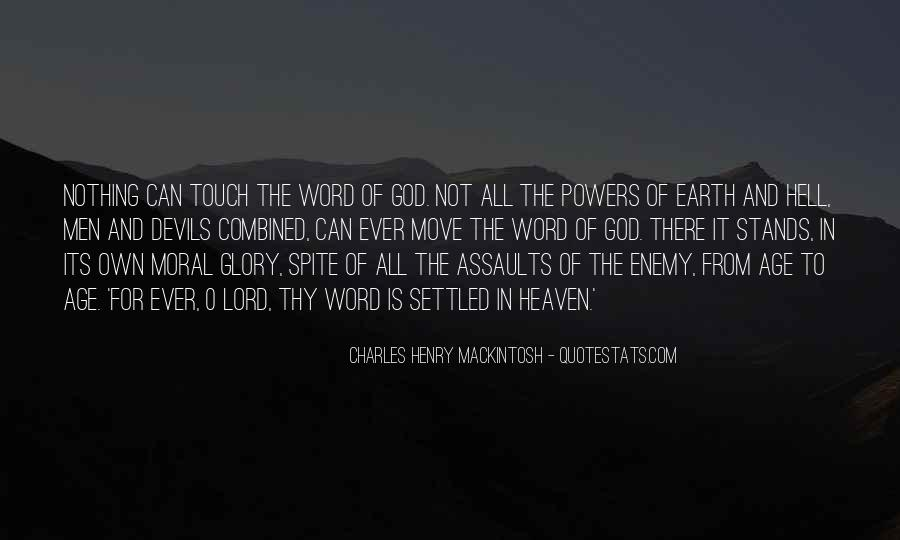 Mackintosh Quotes #1342803
