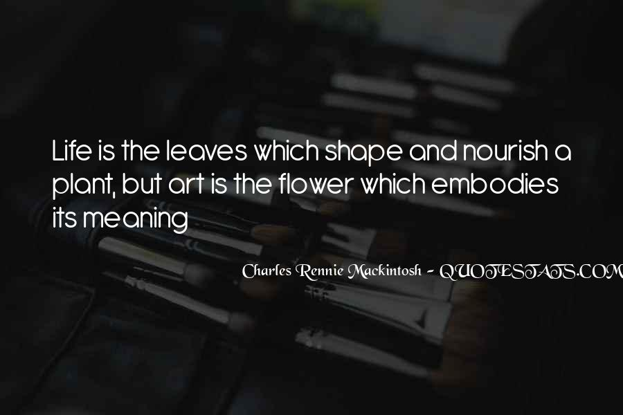 Mackintosh Quotes #338915
