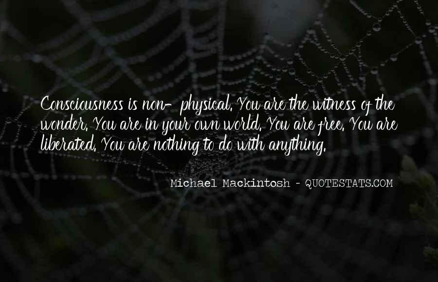 Mackintosh Quotes #372211