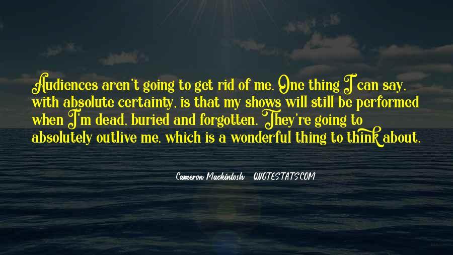 Mackintosh Quotes #488792