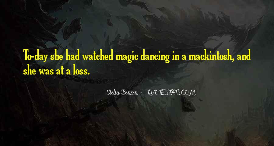 Mackintosh Quotes #509624