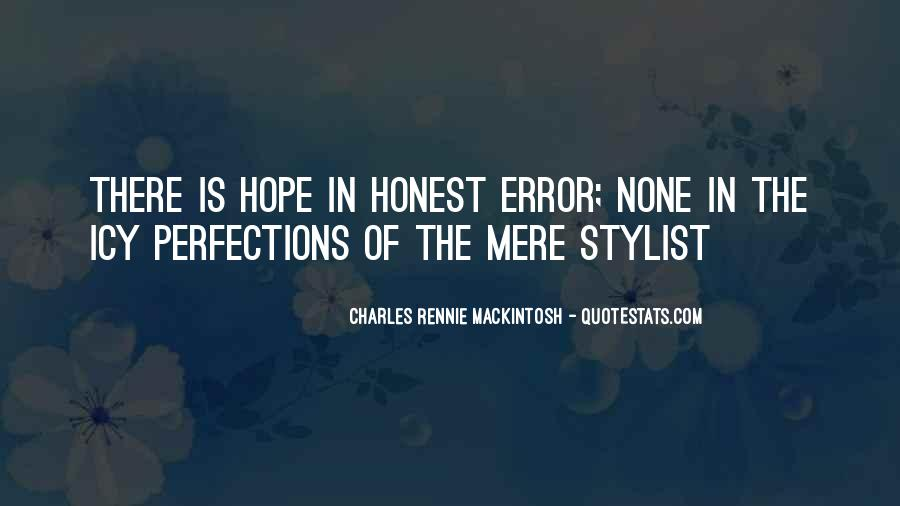 Mackintosh Quotes #535883
