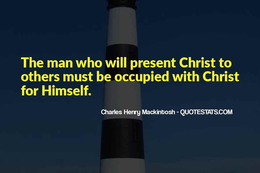 Mackintosh Quotes #553440
