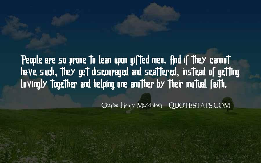Mackintosh Quotes #735295