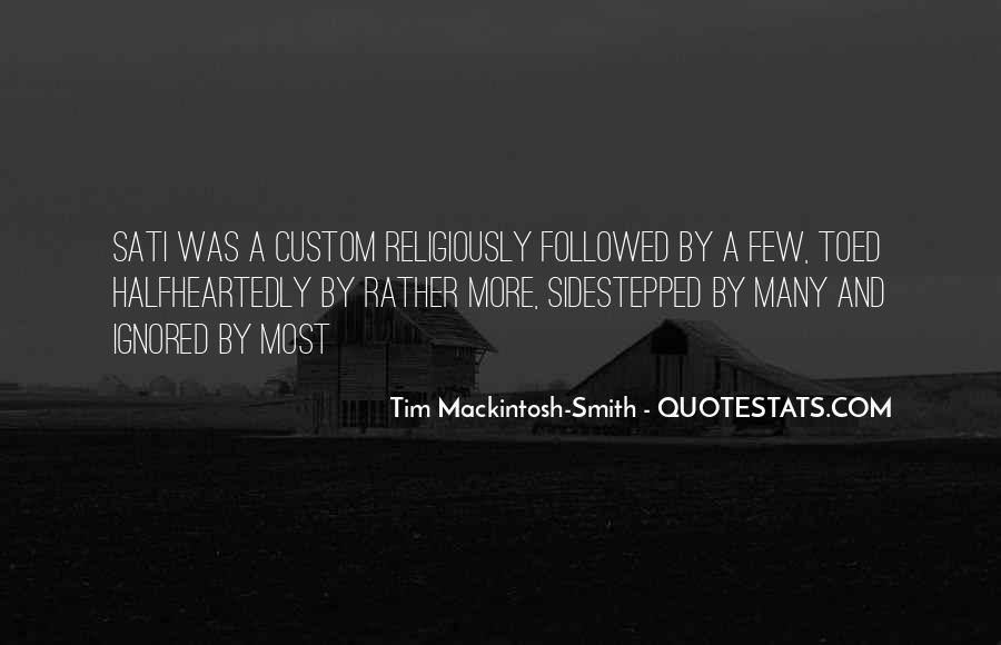 Mackintosh Quotes #766097