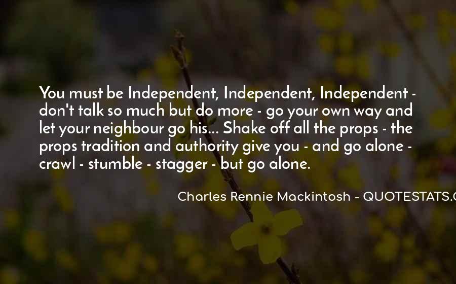 Mackintosh Quotes #793175