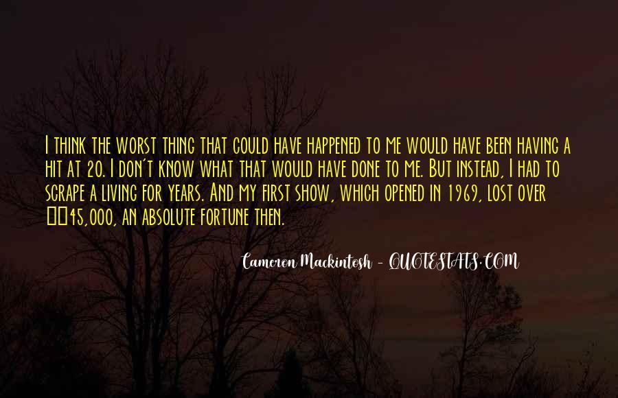 Mackintosh Quotes #866600