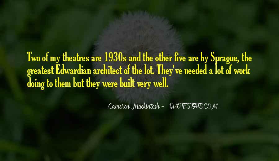 Mackintosh Quotes #888878