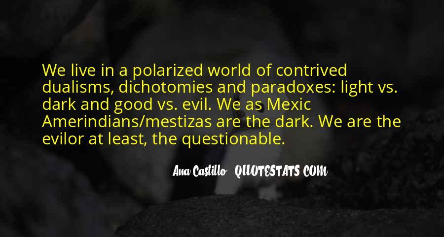 Quotes About Dark Vs Light #129309