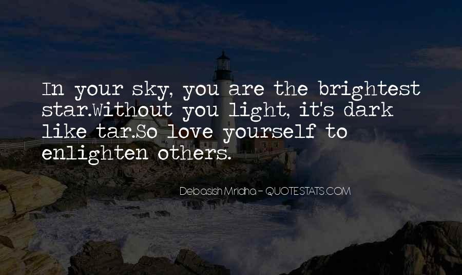 Quotes About Dark Vs Light #1558