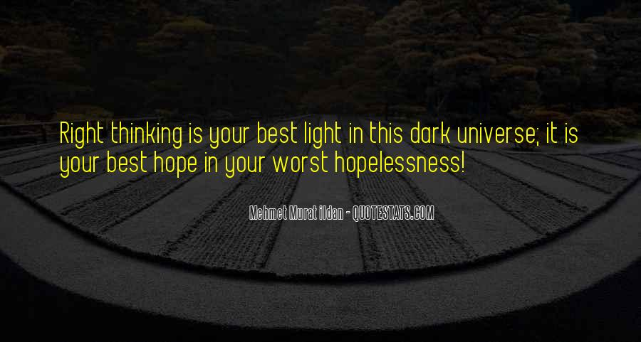 Quotes About Dark Vs Light #26643