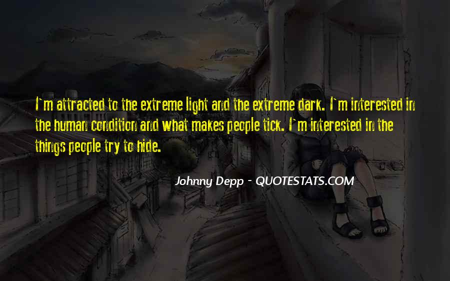 Quotes About Dark Vs Light #44121
