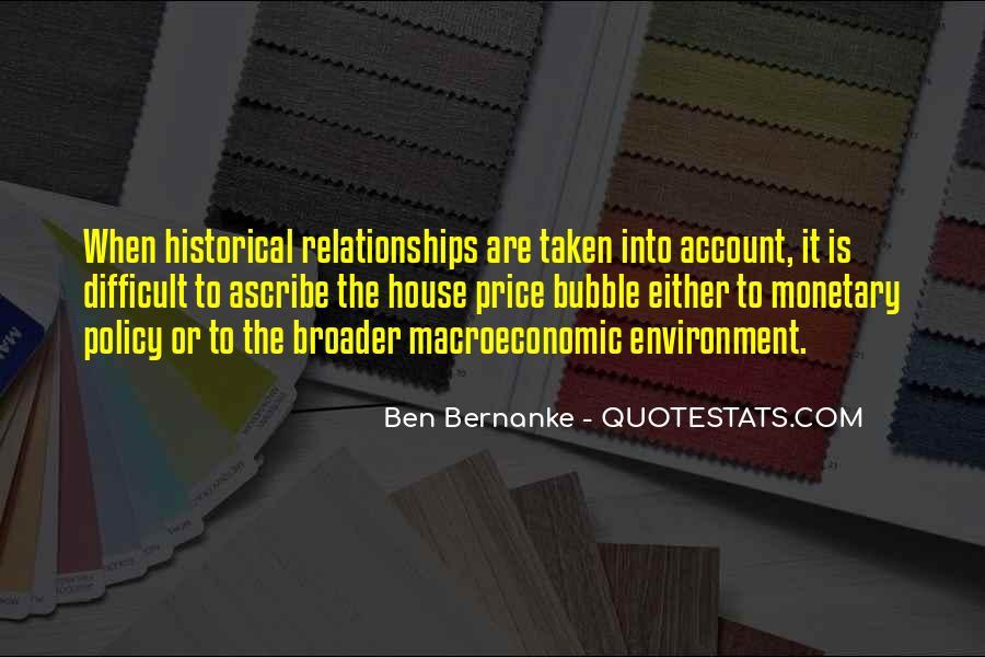 Macroeconomic Quotes #1293012