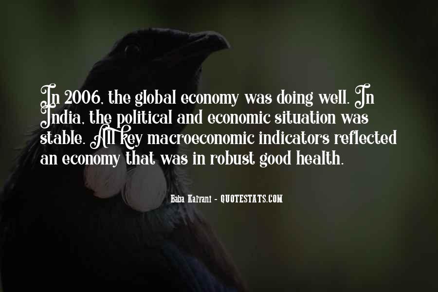 Macroeconomic Quotes #1316415