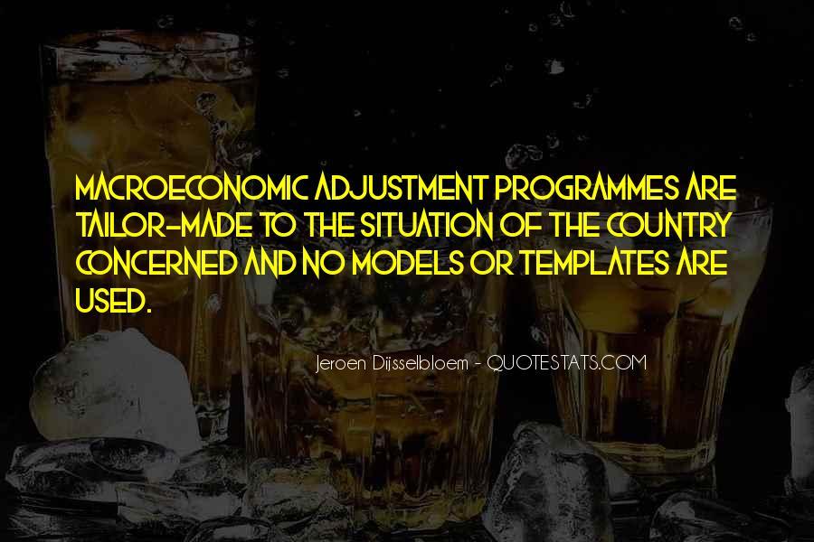 Macroeconomic Quotes #1470096