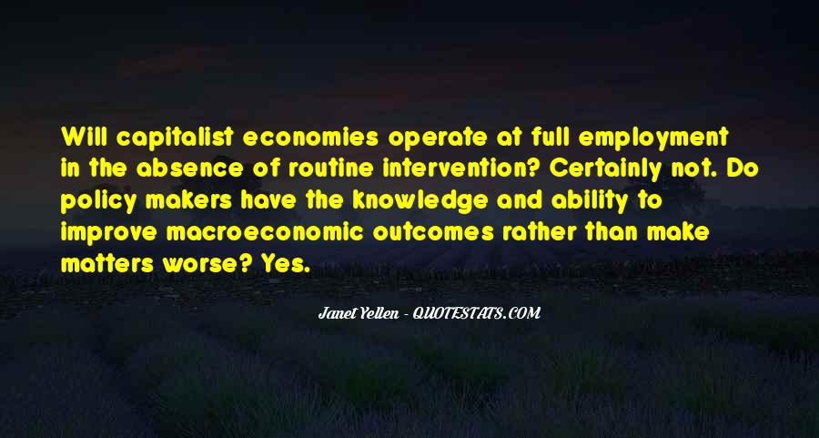 Macroeconomic Quotes #338944