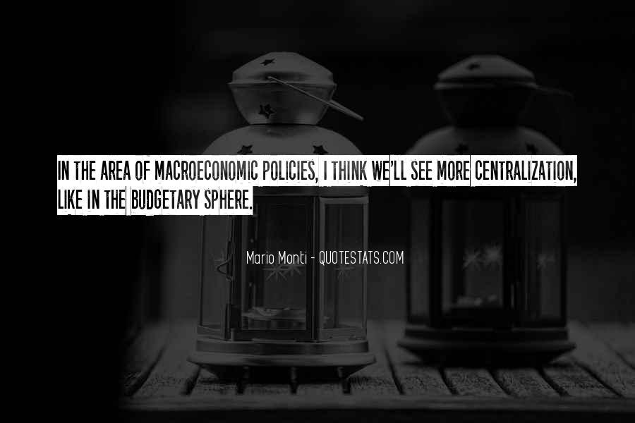 Macroeconomic Quotes #897057