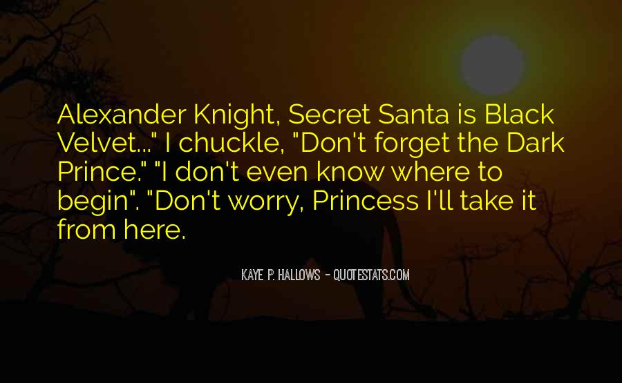Quotes About Dark Prince #1210355