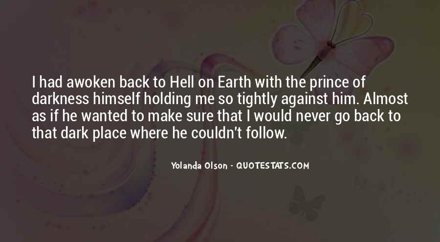 Quotes About Dark Prince #1332748