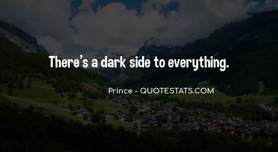 Quotes About Dark Prince #1698564