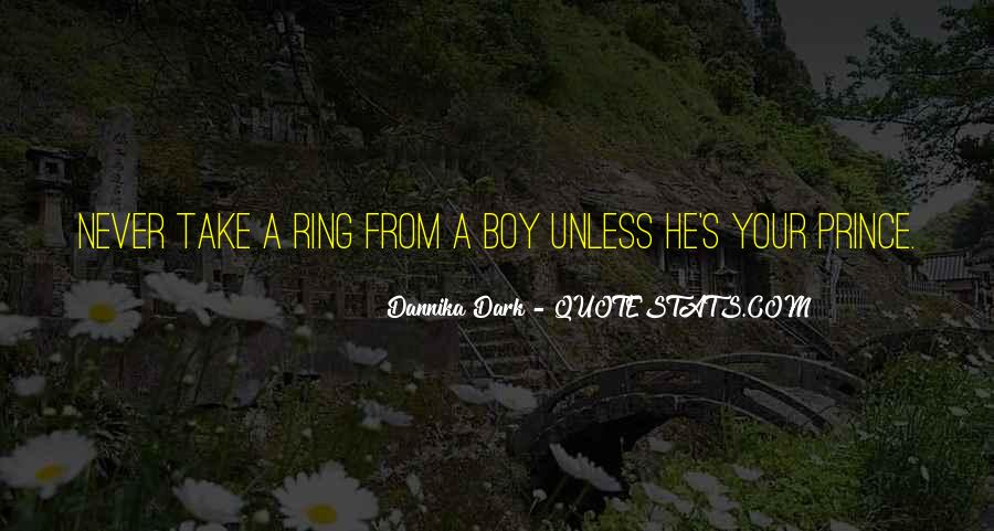 Quotes About Dark Prince #219763
